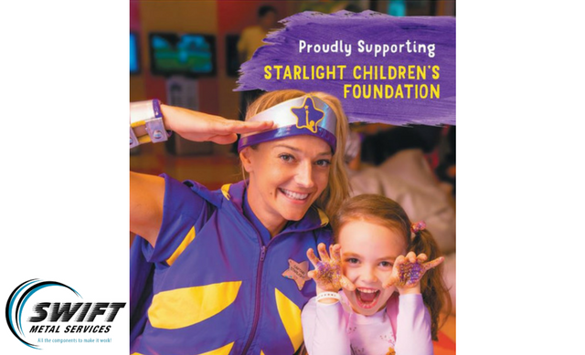 Swift Metal is supporting the Starlight Foundation